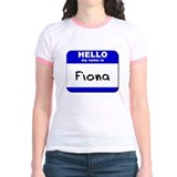 hello my name is fiona T