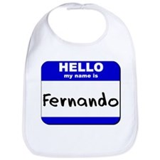hello my name is fernando  Bib