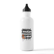 Leukemia I Fought and Won Water Bottle