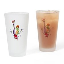 Zombie Pin-up Drinking Glass