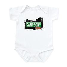 Sampson Av, Bronx, NYC  Infant Bodysuit
