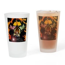 Athena's Dragon Logo Drinking Glass