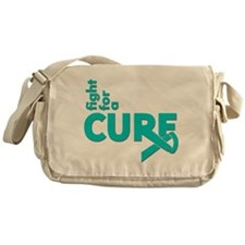 PCOS Fight For A Cure Messenger Bag