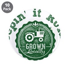 """Keepin it RURAL 02 3.5"""" Button (10 pack)"""