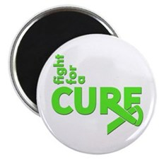 """Lyme Disease Fight For A Cure 2.25"""" Magnet (10 pac"""