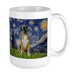 Starry / Boxer Large Mug