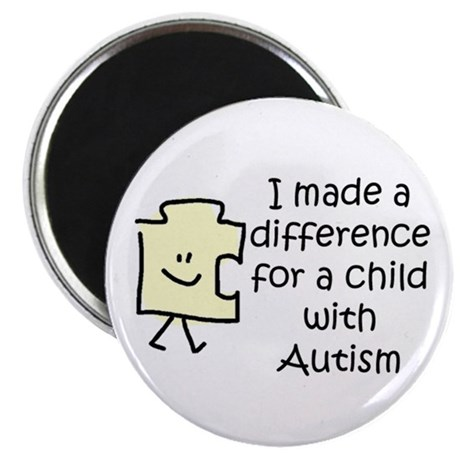 Made a Diff 4 Child \w Autism 2.25&amp;amp;quot; Magnet