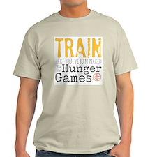 Training For The Hunger Games Light T-Shirt