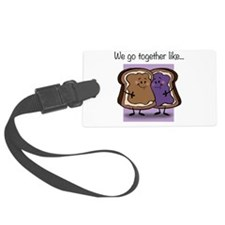 Peanut Butter and Jelly Luggage Tag