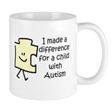 Made Difference For Child With Autism  Small Mugs