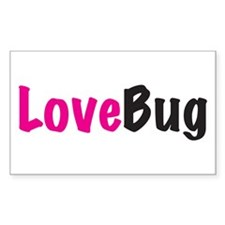 LoveBug Rectangle Decal