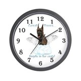 Dane(brindle) Angel Wall Clock