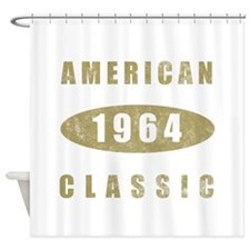 1964 American Classic (Gold) Shower Curtain