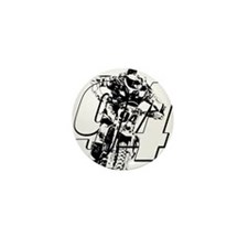 94 ghost white Mini Button (100 pack)