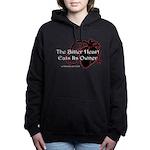 The Bitter Heart Womens Hooded Sweatshirt