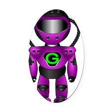 Gazz Oval Car Magnet