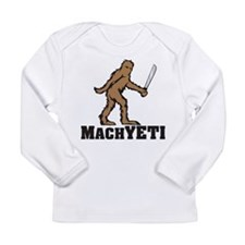 MACHYETI in Color Long Sleeve T-Shirt
