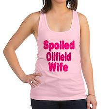 Spoiled Oilfield Wife Racerback Tank Top