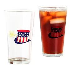 Sparkler Tophat Drinking Glass
