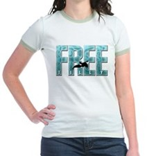 Free Tilly Sea Blue T-Shirt