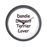 Dandie Lover Wall Clock