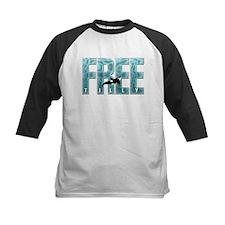 Free Tilly Sea Blue Baseball Jersey