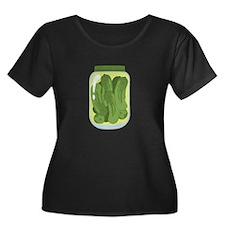 Pickle Jar Plus Size T-Shirt