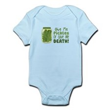 Give Me Pickles Or Give Me DEATH! Body Suit