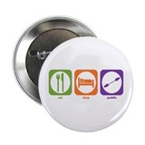 "Eat Sleep Paddle 2.25"" Button (100 pack)"