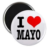 I Heart (Love) Mayo (Mayonaise) Magnet