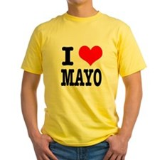 I Heart (Love) Mayo (Mayonaise) T