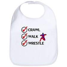 Crawl Walk Wrestle Bib