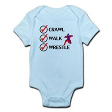 Crawl Walk Wrestle Body Suit