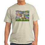 Lilies & Boxer Light T-Shirt