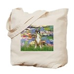 Lilies & Boxer Tote Bag