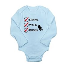 Crawl Walk Rugby Body Suit