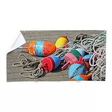 Lobster Buoys Beach Towel