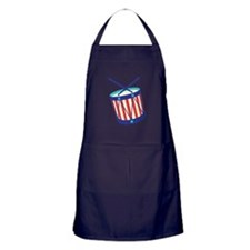Stars Stripes Drum Apron (dark)