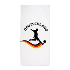 Soccer Deutschland Player Beach Towel