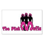 Pink Mafia Rectangle Sticker