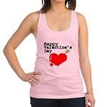 Happy Valentines Day Racerback Tank Top