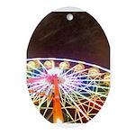 ferris wheel Ornament (Oval)