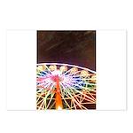 ferris wheel Postcards (Package of 8)
