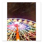 ferris wheel Square Car Magnet 3