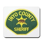 Inyo County Sheriff Mousepad