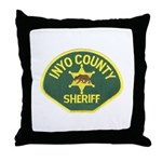 Inyo County Sheriff Throw Pillow
