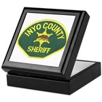 Inyo County Sheriff Keepsake Box
