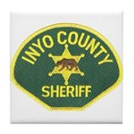Inyo County Sheriff Tile Coaster