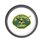 Inyo County Sheriff Wall Clock