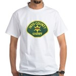 Inyo County Sheriff White T-Shirt